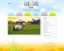 Разработка интернет-магазина Галушки
