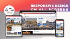 Сайт для туристического агентства на WordPress