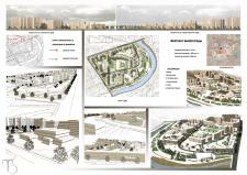 Фрагмент жилой среды (эскизный проект)