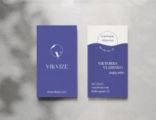 Визитная карточка для Vikvize
