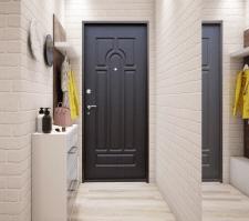 Дизайн+ визуализация 1-к квартиры