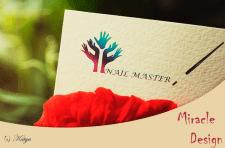 Логотип для Nail master