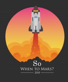 "Иллюстрация ""So, when to Mars?"""