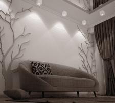 Визуализация светильников в интерьере