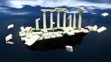 Древнегреческий островок в воздухе