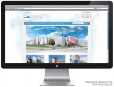дизайн для сайта строительной компании LCN