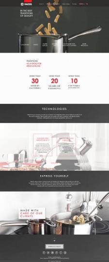 WOW-сайт для бренда Vinzer
