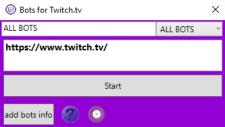 Накрутка ботов на платформу Twitch.tv