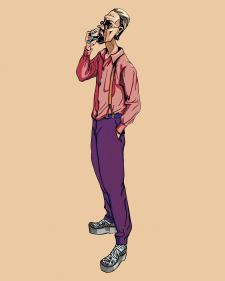 Иллюстрация Сутинер