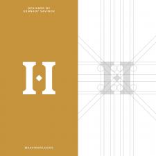 Ancient H Letter Logo