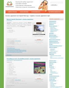 Добавления контента на slushai-knigi.ru