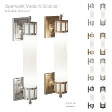 Openwork Medium Sconce