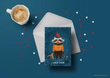 Иллюстрация, открытка