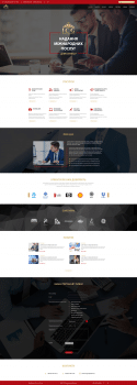 Дизайн сайта консалтинговой компании ICG