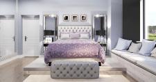 Визуализация спальни девушки