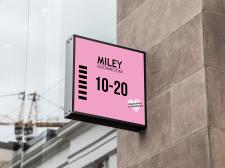 """Вывеска для магазина """"Miley"""""""