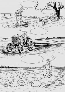 Иллюстрация ч/б