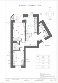 Планировка квартиры Киев