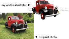 отрисовка в illustratore