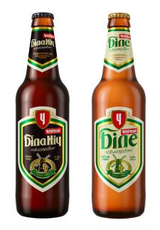 бутылки с пивом для рекламы