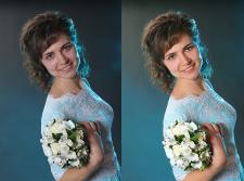 ретушь + цветокоррекция
