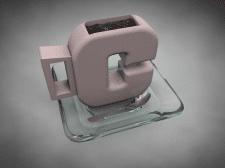 3D, кружка