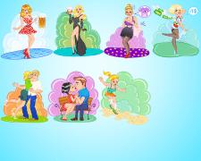 Иллюстрации для игры.