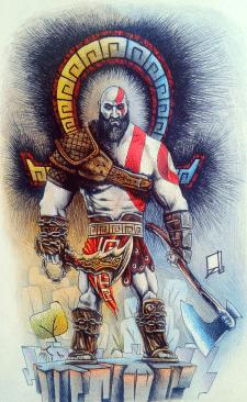 Kratos. God of war
