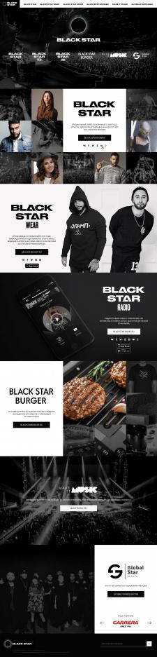 Посадочная страница бренда