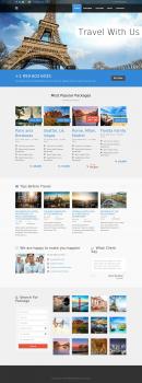 Сайт-визитка туристической фирмы