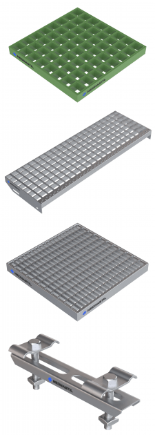 Моделирования и визуализация решетчатого настила