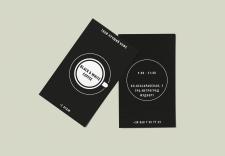 Логотип и визитка для кофейни