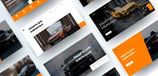 Веб - сайт дизайн iMac варианты