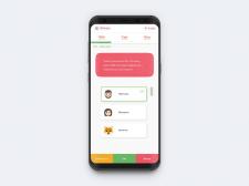 Дизайн мобильного приложения для начинающего старт