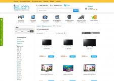 Наполнение сайт slich.com.ua