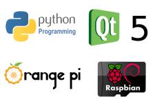 Python + PyQt5 + Orange Pi