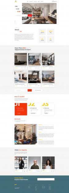 PerfectRent | Website