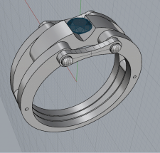 кольцо мужской