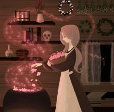 Що готує чаклунка?