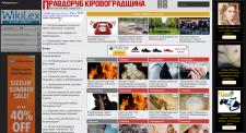 Новостной сайт Правдоруб на Wordpress
