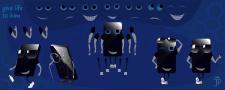 векторный набор для анимации