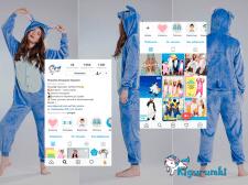 Комплекс SMM для пижам кигуруми