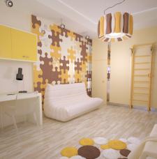 Детская комната (визуализация)