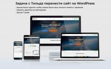 Перенести сайт с Тильда на WordPRess
