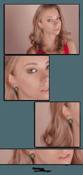 Имиджевая фотосъемка сережек