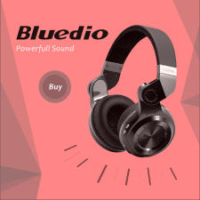 Баннер для Bluedio