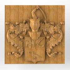 Дворянский герб рода Нехлюдовых (под ЧПУ)