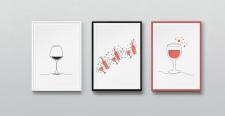 """Серия постеров """"Wine"""""""