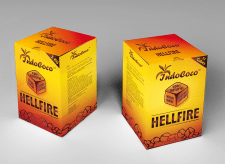 Дизайн коробки углей для кальяна