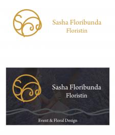 Разработка дизайна визитки для флориста и флористи